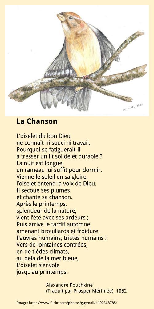 Alexandre Pouchkine – La Chanson