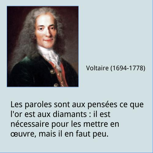 Voltaire – Citation