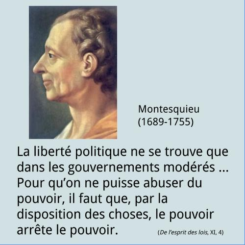 Montesquieu – Citation