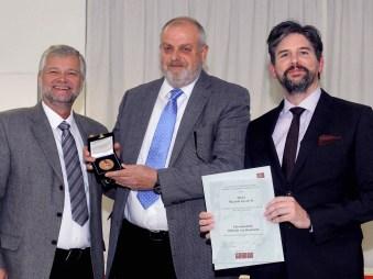 Kurt Hellemann, Ricardo Gevert y Jochen Fritz.