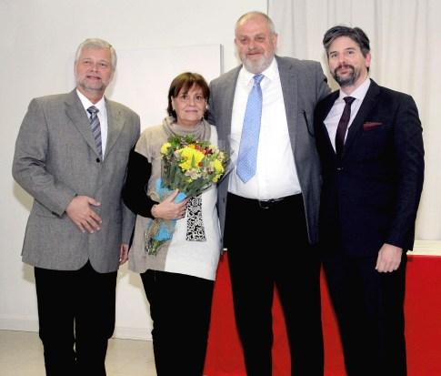 Kurt Hellemann, Marie Christine Reinhardt, Ricardo Gevert y Jochen Fritz