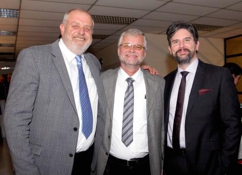 Ricardo Gevert, Kurt Hellemann y Jochen Fritz