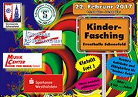 Kinderfasching am 22.2.2017