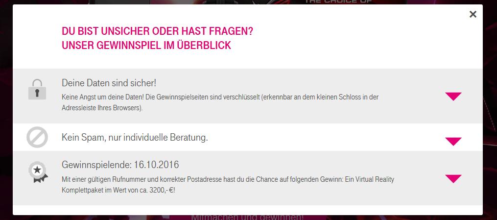 Gewinnspiel Der Telekom Seriös