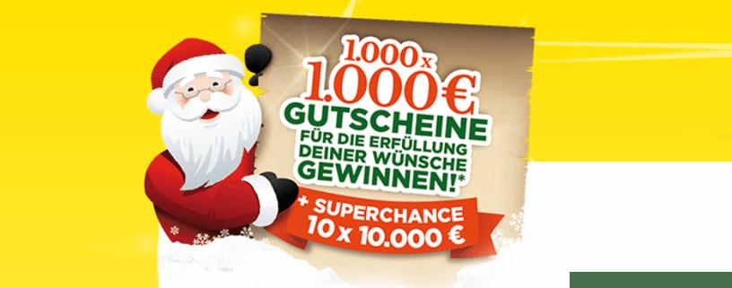 Ferrero Wunschgutschein 2017 Gewinnspiel