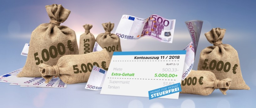 Extra-Gehalt 2018
