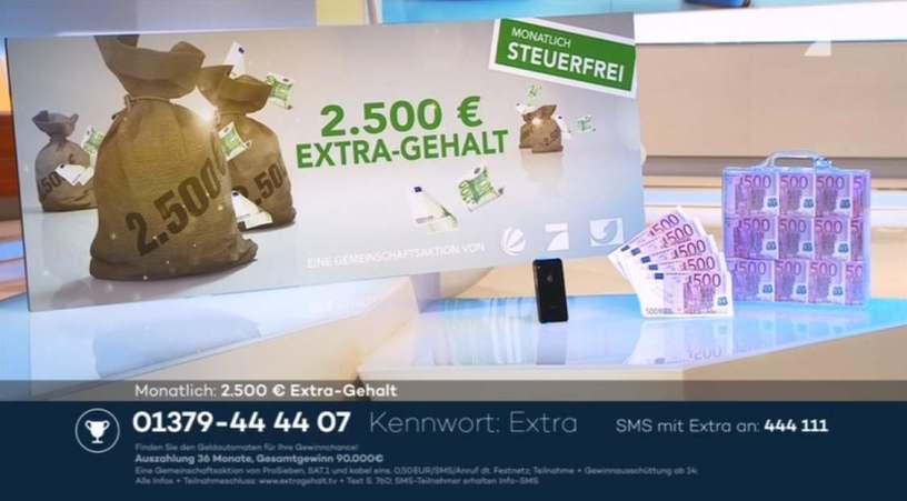 Extra-Gehalt-Gewinnspiel