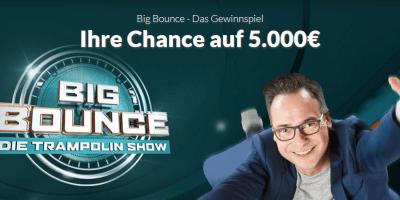 Big Bounce Gewinnspiel Winario-Screenshot