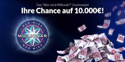 Wer wir Millionär Gewinnspiel Screenshot