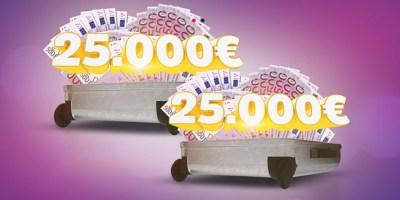 25.000 Euro MEGA Urlaubsgeld