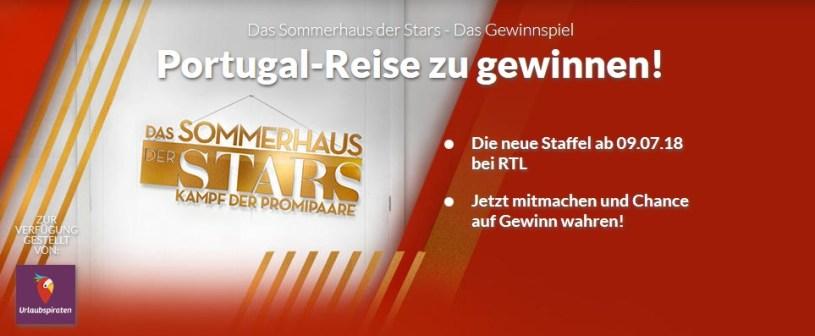 Winario Screenshot Das Sommerhaus der Stars Gewinnspiel