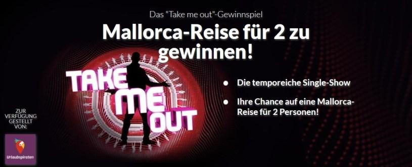 Take Me Out Gewinnspiel