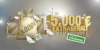 Aktuelles Gewinnspiel: 5000€ Extra-Gehalt