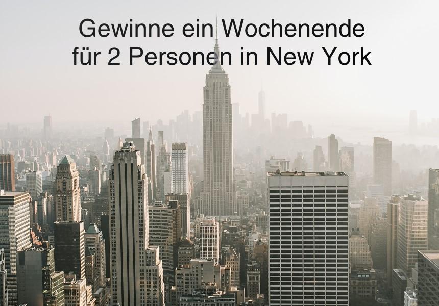 Gewinne ein Wochenende für 2 in New York