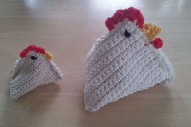 paasknutsel: een kippetje haken