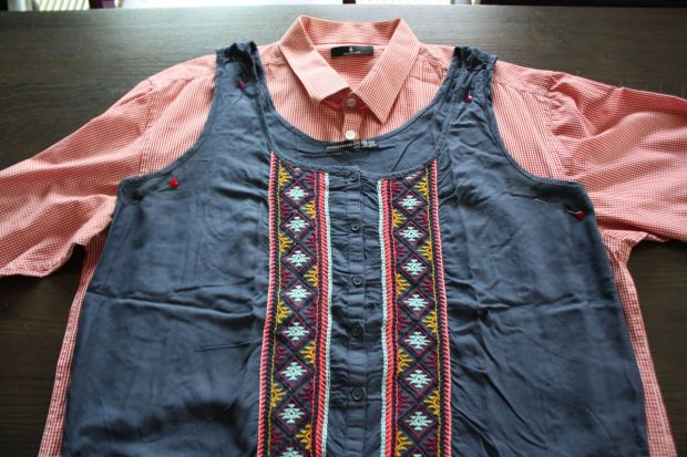 DIY men's shirt to top (3)