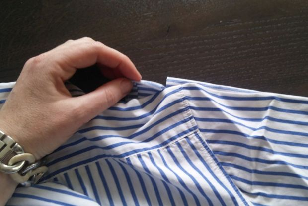 restyle men's shirt DIY (6)