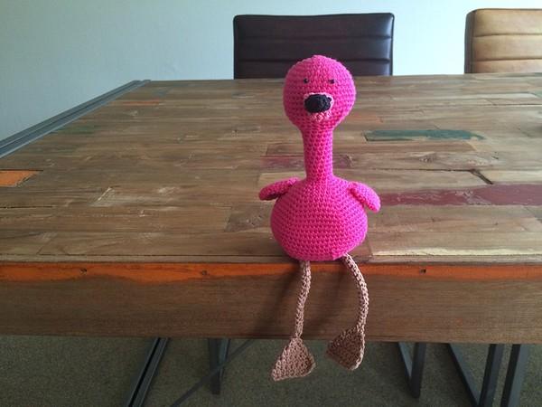 Een Flamingo Haken Gastblog Diy Gewoon Iets Met Loes