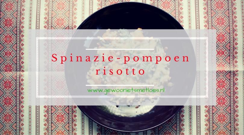spinazie pompoen risotoo van Rudolph