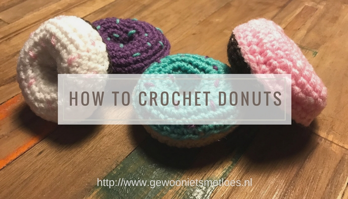 how to crochet donuts