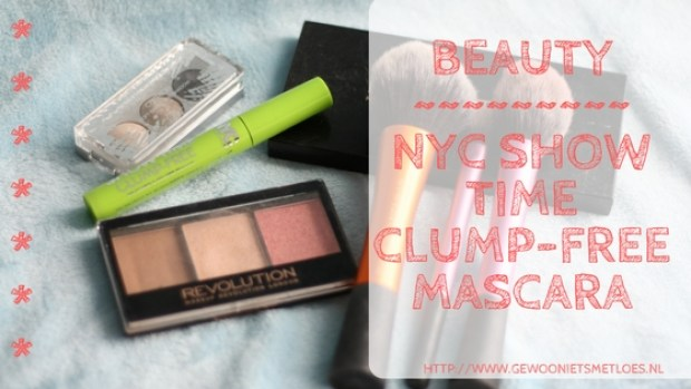 NYC show time clump-free mascara