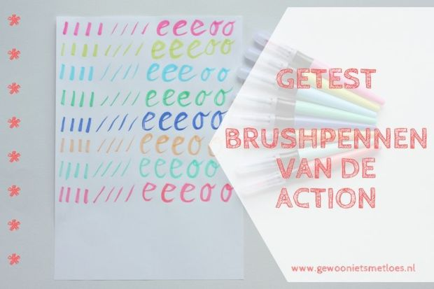 Brushpennen van Action