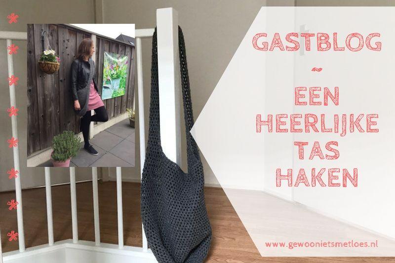 Een heerlijke tas haken | Gastblog