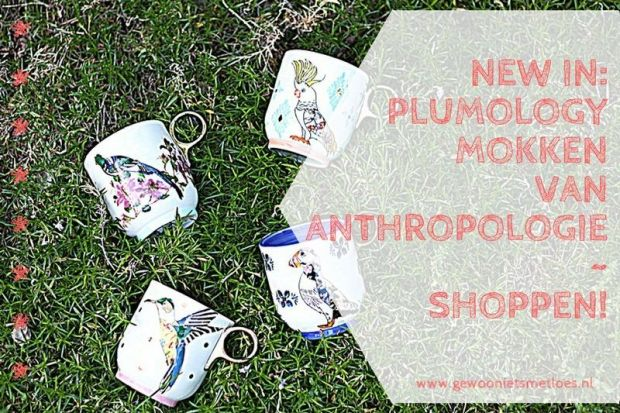 New in Plumology mokken van Anthropologie