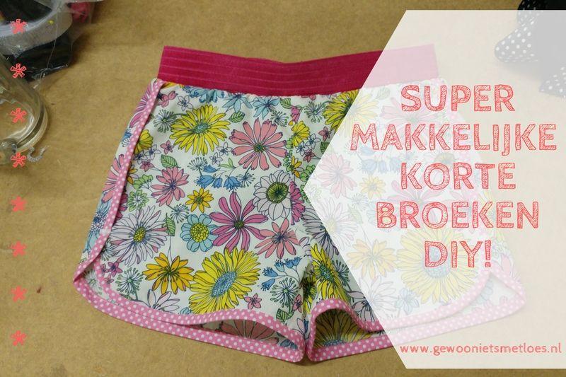[:nl]Korte broeken naaien! | DIY (met gratis patroon)[:en]Korte broeken! | DIY[:]