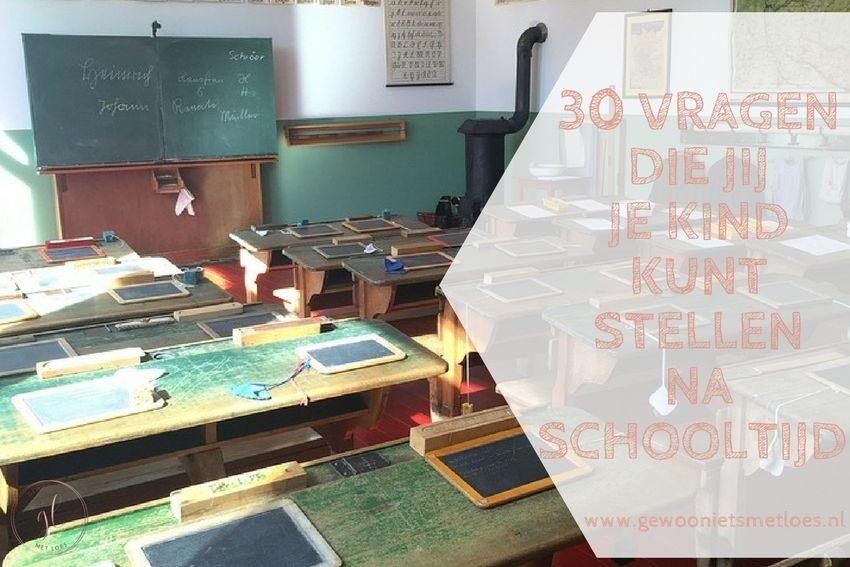[:nl]30 Vragen die jij je kind kunt stellen na schooltijd | Anders dan 'Hoe was het op school?'[:]