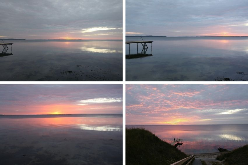 zonsondergang Funen