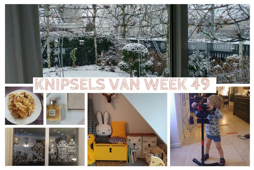 [:nl]Knipsels van week 49: winterwonderland, sneeuw en klussen in Pepijn's kamer[:]