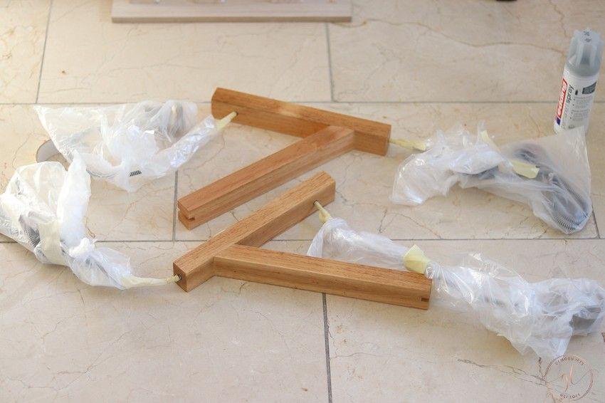 een lamp verven met permanent spray van edding (4)