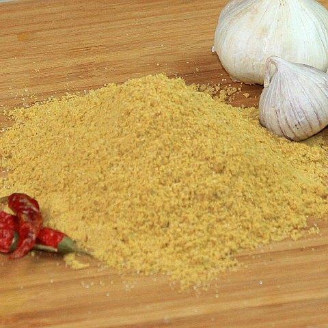 Ein Berg Curry Frucht