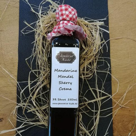 Crema Mandarine Mandel Sherry