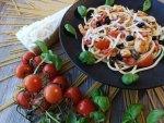 Pasta Aglione Gericht