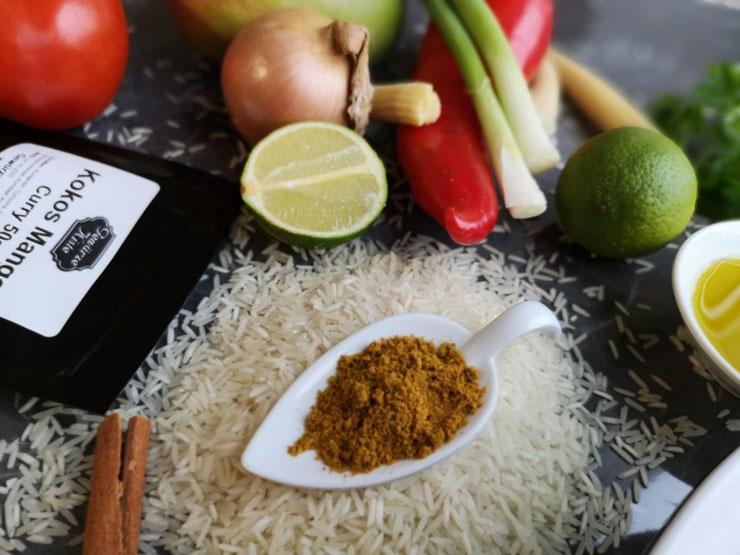 Zutaten für Chicken Tikka Masala