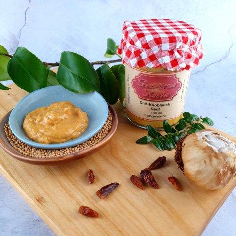 Chili Knoblauch Senf