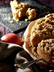 Apfel-Streusel-Kuchen vegan Rezept