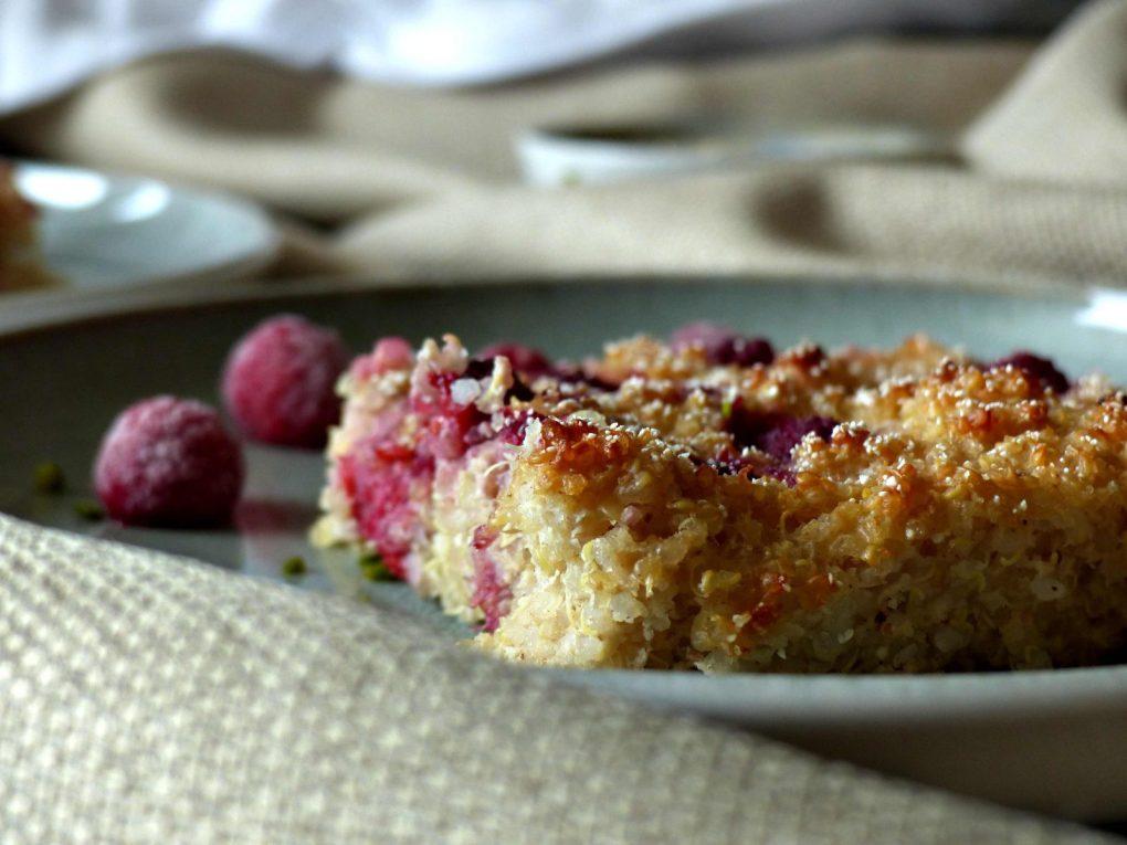 Süßer Quinoa-Auflauf vegan Rezept GewusstVegan