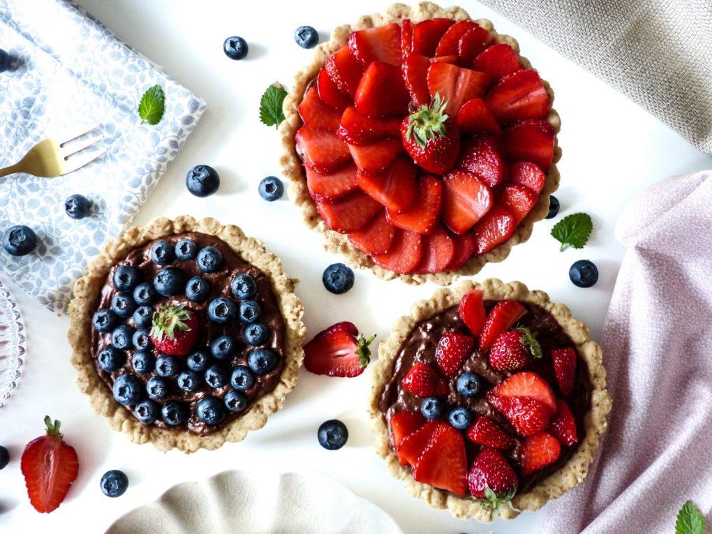 Rezept Tartelettes Erdbeeren