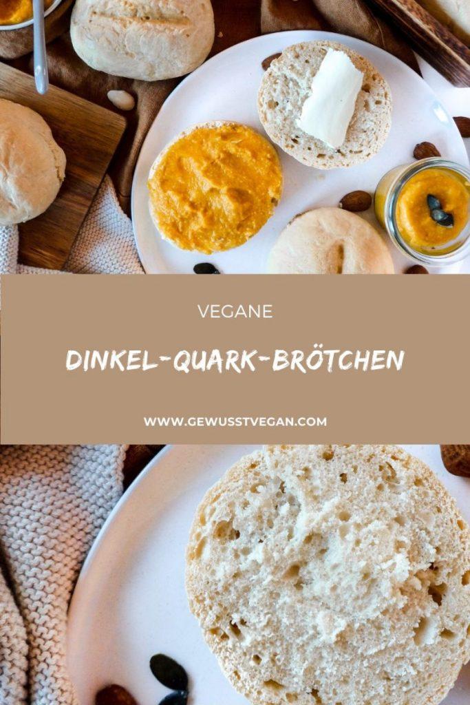 Dinkel-Quark-Brötchen vegan