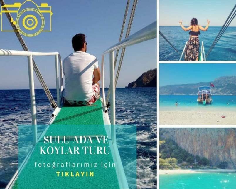 Sulu Ada ve Adrasan Tekne Turu Fotoğrafları