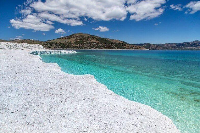 Salda Gölü manzara