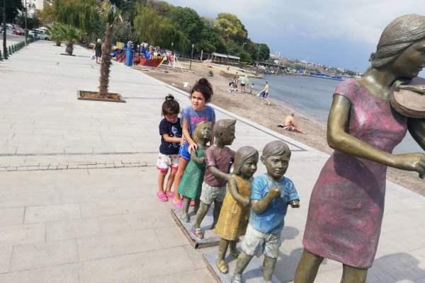 Marmara Ereğlisi heykel