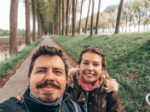 Brugge'da Gezilecek Yerler -  Brugge - Damme Bisiklet turu yaparken