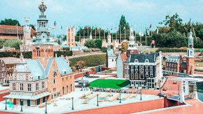 Brüksel'de gezilecek yerler - Mini Europe küçük bir Avrupa gibi dörünüyor