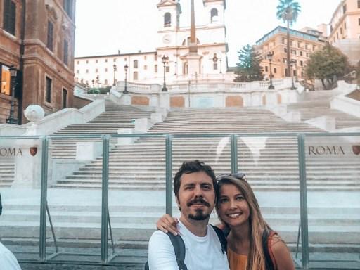 Rome Spanish Steps Italy