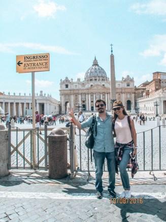 Vatikan girişi