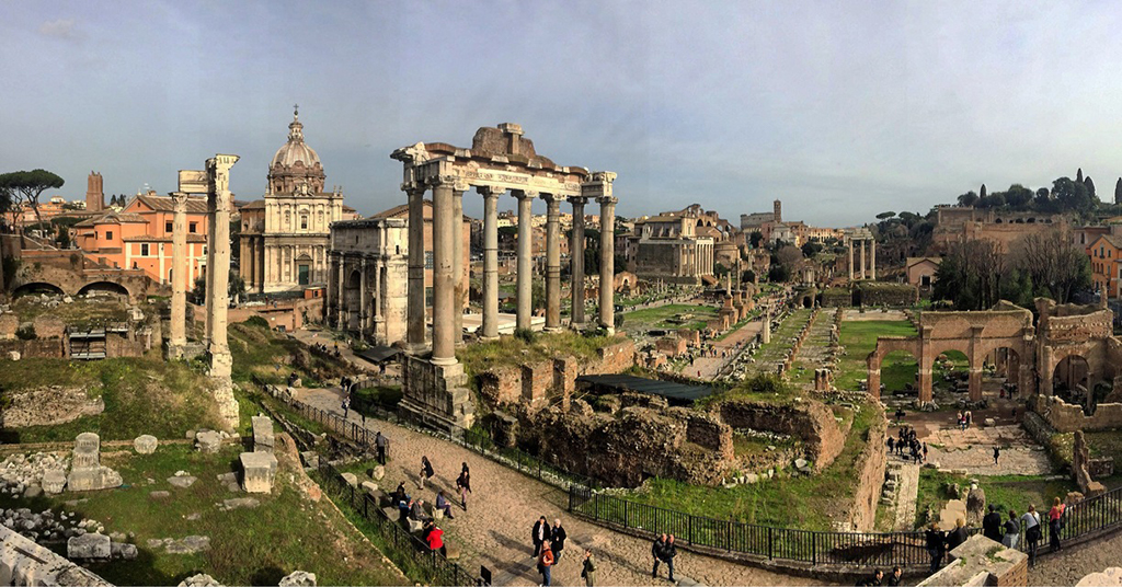 Roma Gezilecek Yerler Roma Forum
